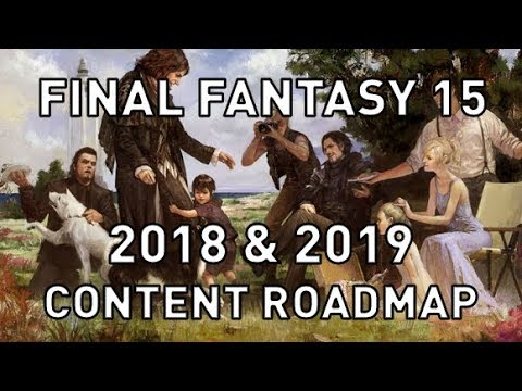 FF15: Four New DLC, Mods & More Updates for 2018 & 2019