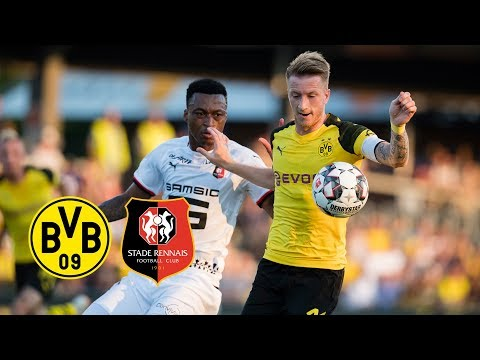 Reus New BVB Captain & Delaney's Debut | BVB vs. Stade Rennes 1-1 | Goals and Highlights