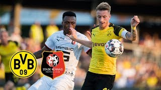 Reus New BVB Captain & Delaney's Debut | BVB vs. Stade Rennes 1-1 | Goals and Highlights