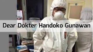 Viral Dokter Handoko Gunawam Tanganin Pasien Corona Tanpa Henti