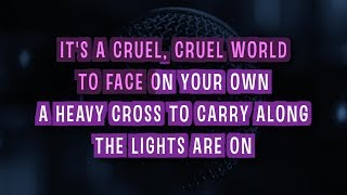 Heavy Cross Karaoke Version by Gossip (Video with Lyrics)