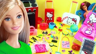 100 DIY Dollhouse Miniatur Barbie Aksesoris & Lifehacks