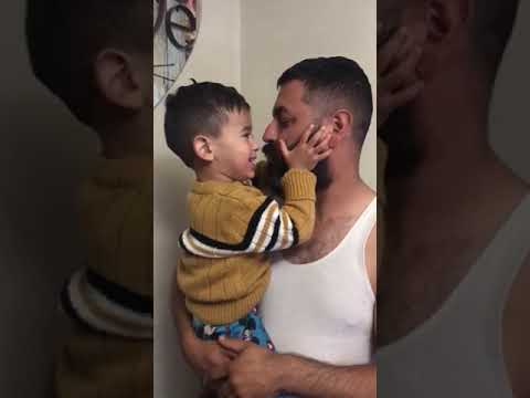 My Baby Boy Reaction After I Shave My Beard Part 1 Youtube