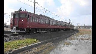 JR西日本七尾線能瀬~本津幡間を走行する415系の金沢行き