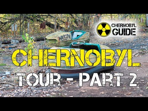 Chernobyl Tour, part 2 - Visit Pripyat and Amusement park
