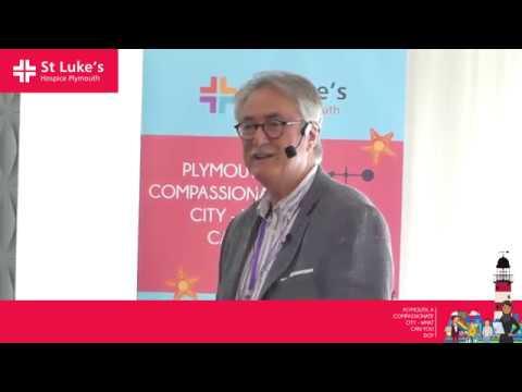 Delegates gather to make Plymouth a more compassionate city - Professor Allan Kellehear