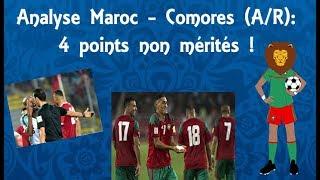 Analyse Maroc - Comores (A/R): 4 points non mérités !