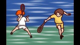 Onion Man   運動漫畫裡的中二老梗劇情(十一) - 洋蔥vs睪首 之二 - 這才叫打網球