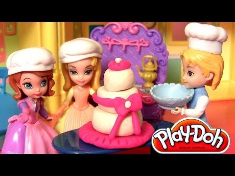 Play Doh Sofia Amber Family Baking Fun Playset James princess Sofia the First by DisneyCollector