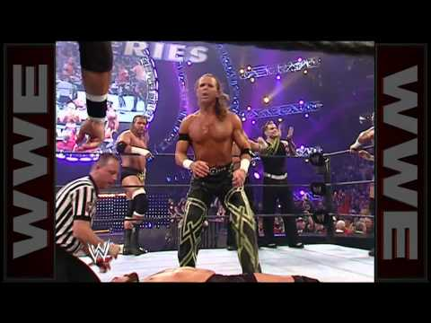 Shawn Michaels stuns Mike Knox with Sweet Chin Music: Survivor Series 2006