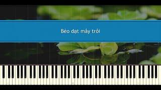 Bèo dạt mây trôi - (Anh Khang & Quang Thắng) Dân ca Việt Nam (Piano Tutorial)