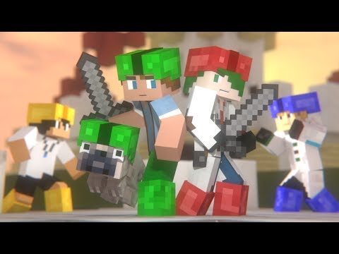 Mini Walls: FULL ANIMATION (Minecraft Animation) [Hypixel]