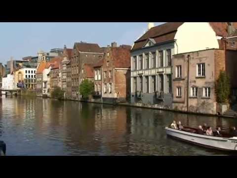 Belgique la ville Flamande de Gand