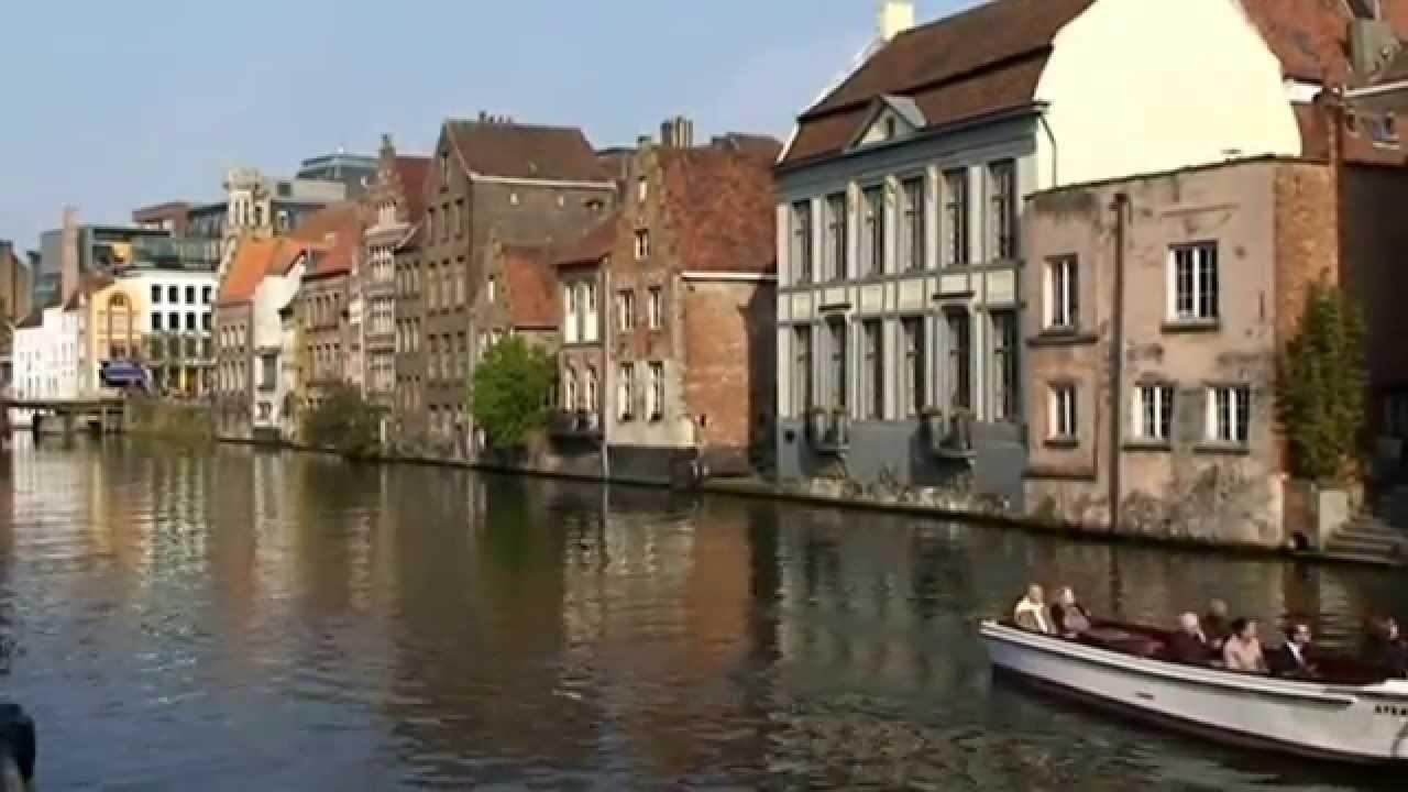 belgique la ville flamande de gand youtube. Black Bedroom Furniture Sets. Home Design Ideas