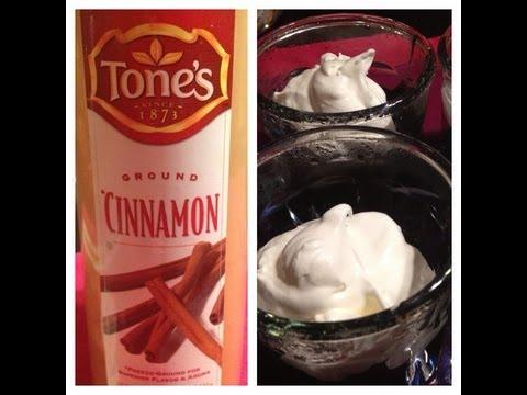 Top 50 Healthiest Foods - Cinnamon & Vegan Cinnamon-Chocolate Pudding