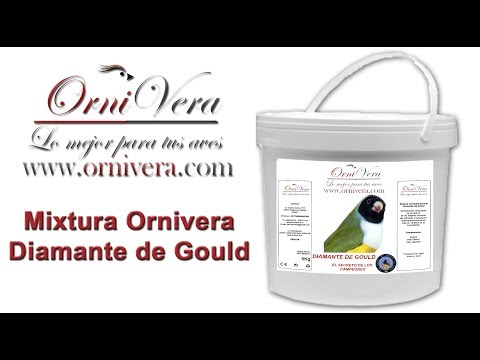MIXTURA ORNIVERA DIAMANTE DE GOULD | WWW.ORNIVERA.COM