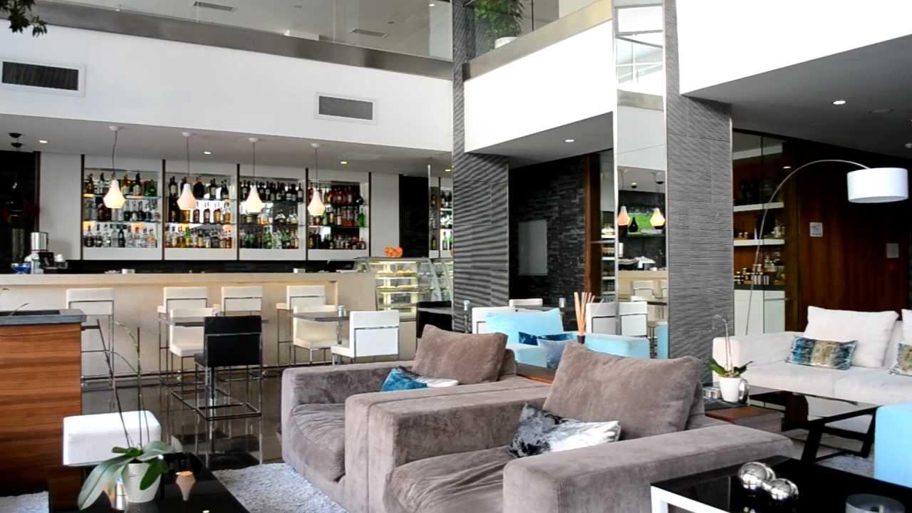 Lobby area at The George Hotel Malta - YouTube