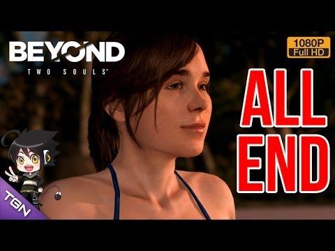 Beyond Two Soul [Pt11] ALL END: รวมฉากจบหลักของเกม
