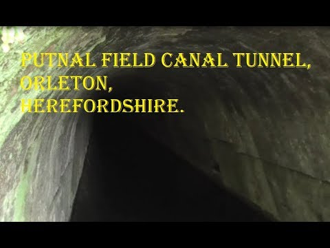 Exploration - Leominster Canal Pt 3. Putnal Field Tunnel