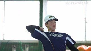 金足農・吉田輝星投手が練習納め 「努力報われた1年」