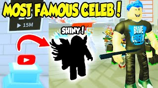 I GOT THE MOST FAMOUS CELEBRITY IN THE FAME SIMULATOR UPDATE!! (Roblox)