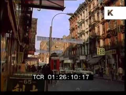 1980 Chinatown New York City Street Market Shot On 35mm Youtube