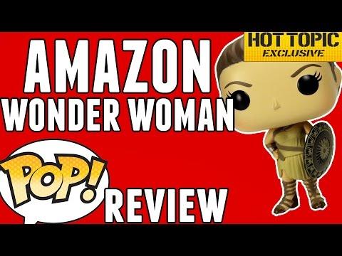 AMAZON WONDER WOMAN (Hot Topic Exclusive) | Funko Pop! Review
