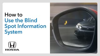 homepage tile video photo for How to Use the Blind Spot Information System