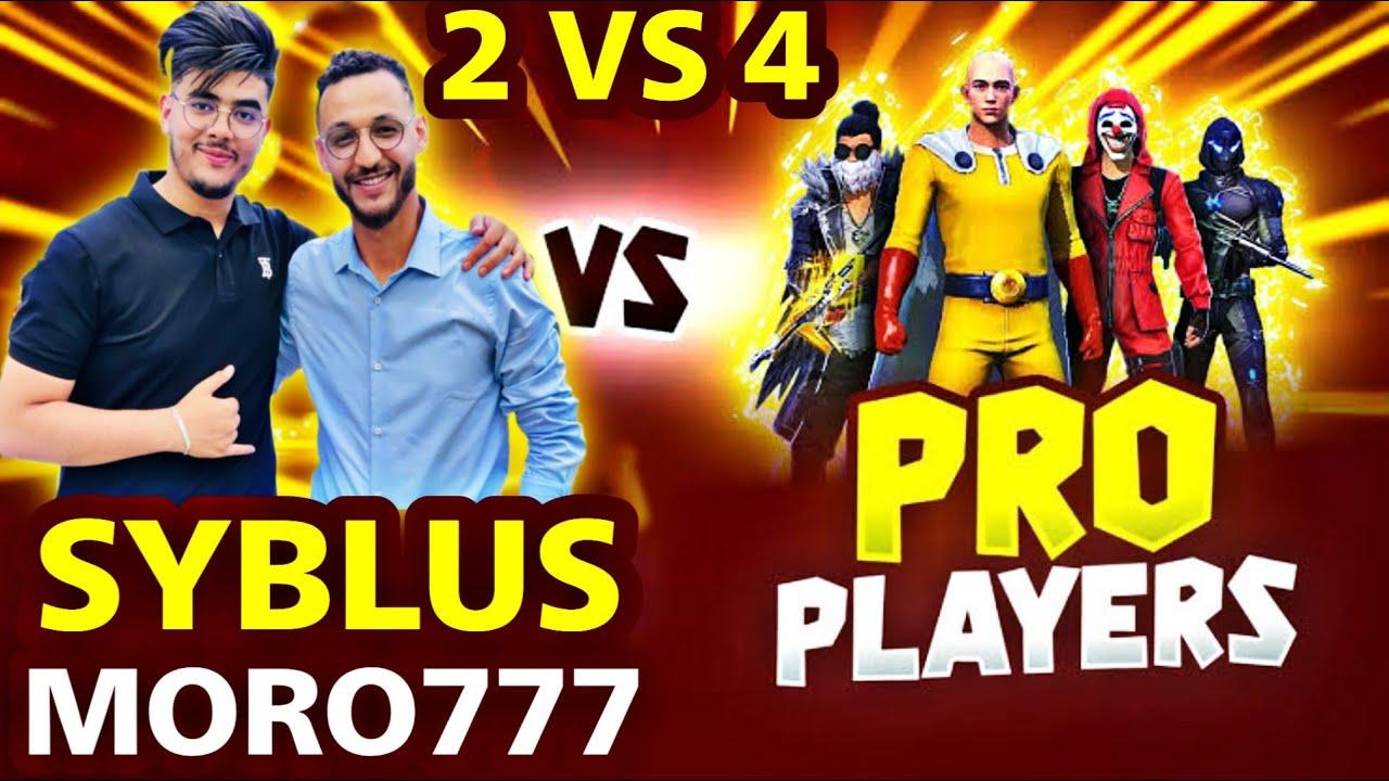 One Tap king SYBLUS & MORO VS PRO SUBSCRIBERS Clash Squad Custom Match