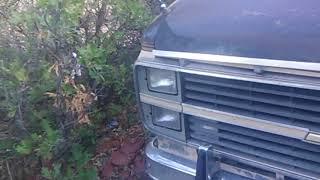 e43b75b58b Van life engine problems in the woods ...