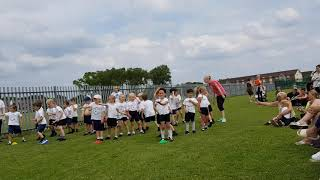 Reception class 7/19 sports day