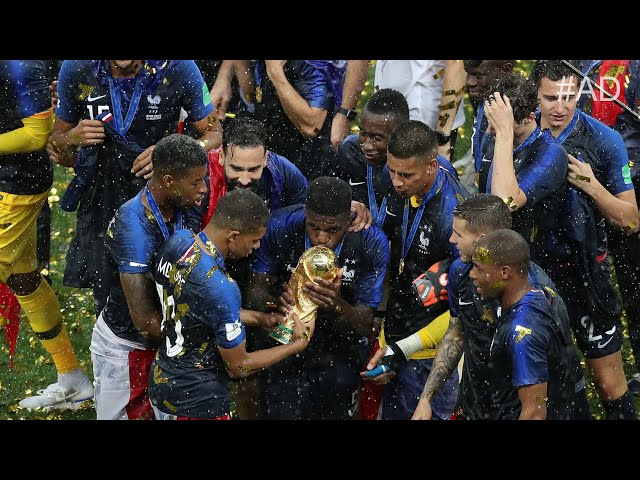 FRANCE 4-2 CROATIA   FRANCE ARE WORLD CUP CHAMPIONS!!!   #TheFootballSocial