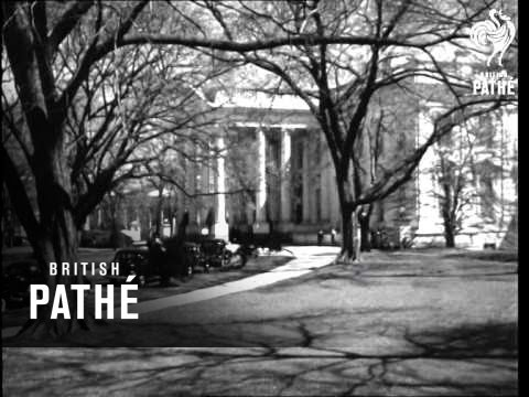 U.S. The White House And The Capitol Washington AKA Whitehouse (1951)