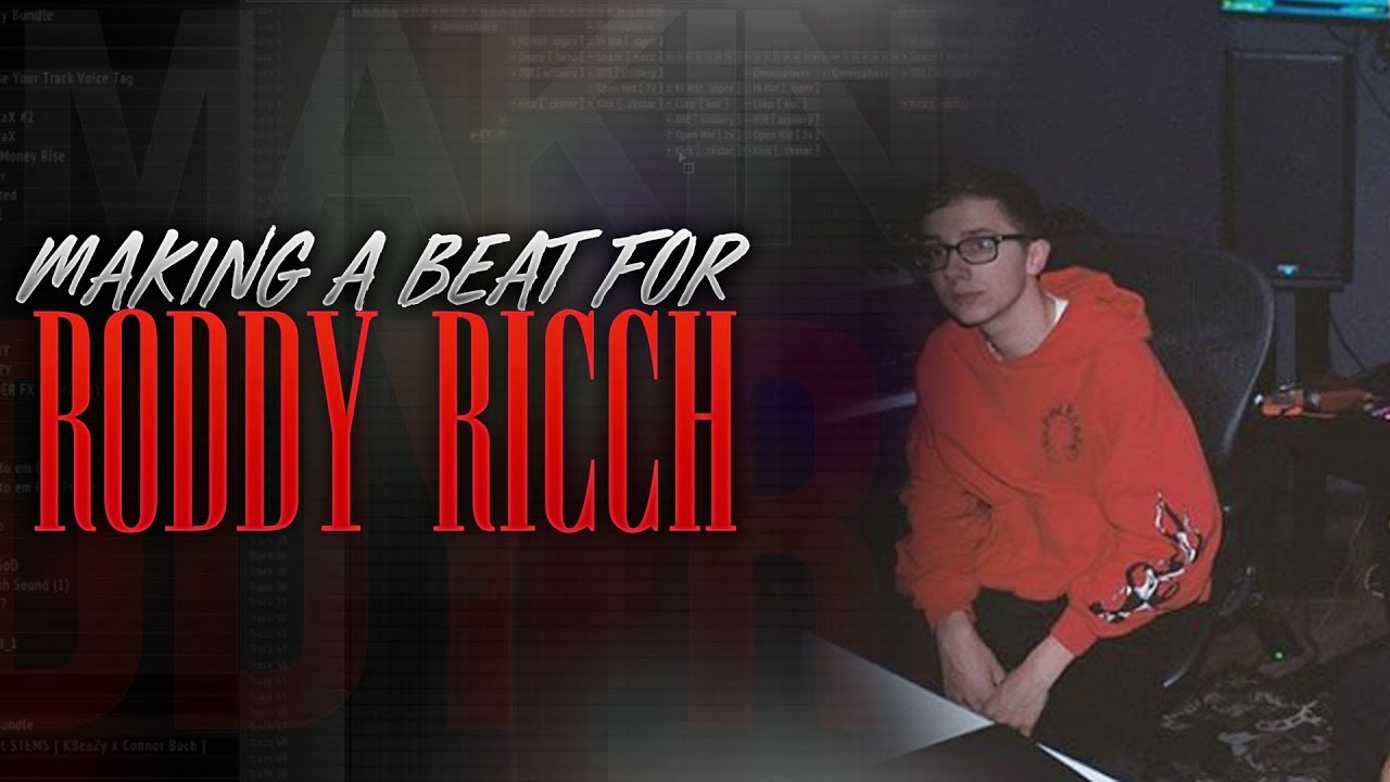 MAKING A MELODIC TRAP BEAT FOR RODDY RICCH