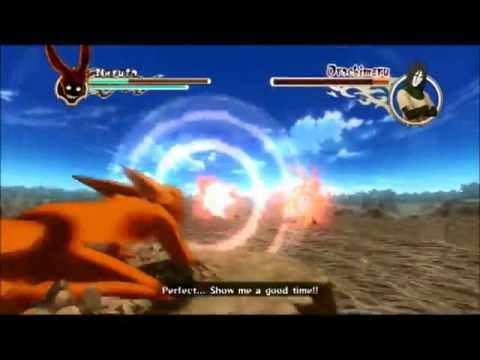 4 Tail Naruto Vs Orochimaru Full Fight English Dub Kyuubi Naruto vs Orochimaru