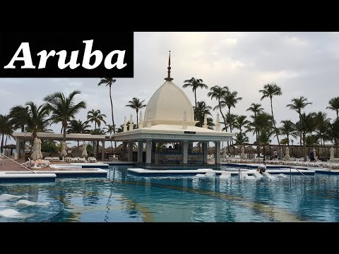 Hotel Riu Palace Aruba | All Inclusive Hotel Palm Beach | Video By Bhanu Patel