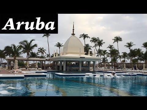 Hotel Riu Palace Aruba | All Inclusive Hotel Palm Beach | Video By Bhanu Patel