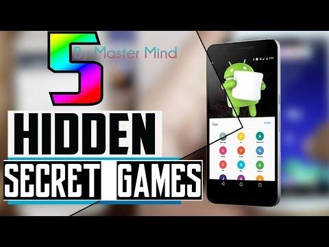 Top 5 Hidden Android Games 2017   Secret Games