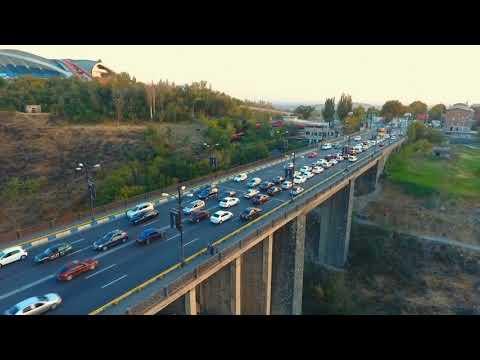 Kievyan Bridge-Armenia (DJI P4 Drone)