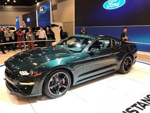 Sneak Peek:  Mustang Bullitt at Vancouver International Auto Show