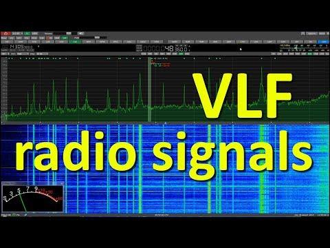 VLF Radio Signals received in Macedonia