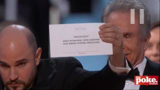 Look who switched the Oscars envelopes