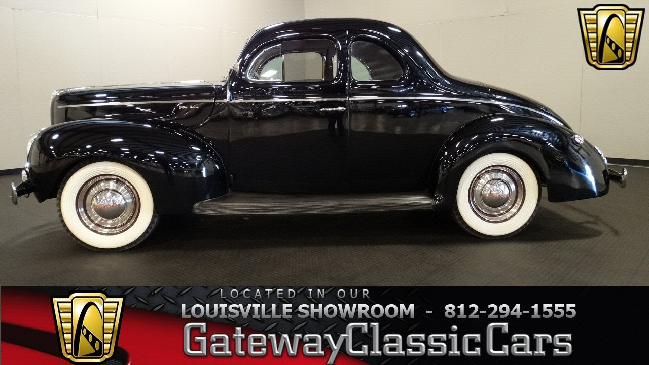 1940 Ford Coupe - Louisville Showroom - Stock # 1493 - YouTube