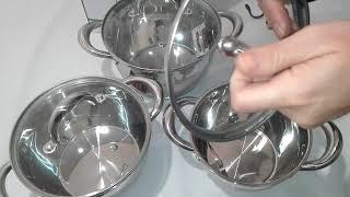 Набор посуды 6пр Lessner Coni 55861 - ОБЗОР