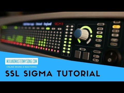 Solid State Logic Sigma Tutorial