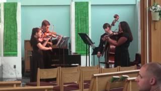 The Sayville High School String Quartet 2016 2017
