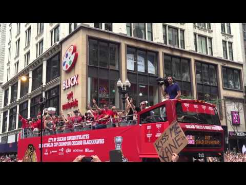 2015 Chicago Blackhawks Stanley Cup Championship Parade!