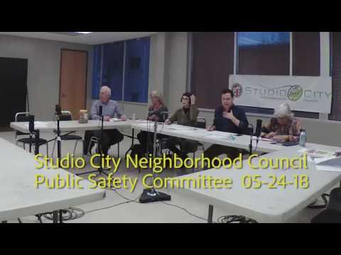 SCNC Public Safety Committee 05 24 18