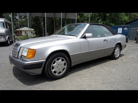 1993 mercedes benz 300ce start up engine and in depth for 1993 mercedes benz 300ce
