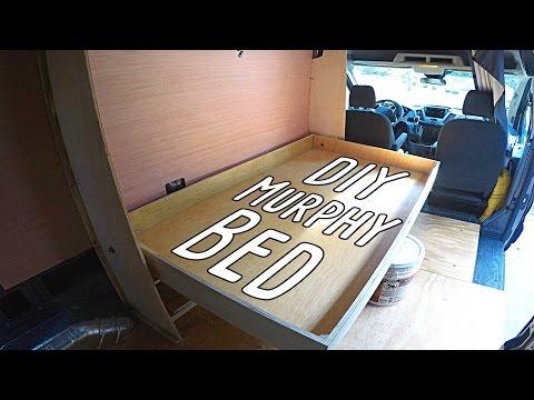 Cargo Van Conversion Murphy Bed - Part Three